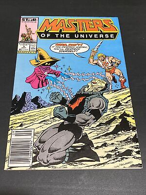 $25 • Buy Masters Of The Universe #9 (Star Comics 1987) Newsstand Edition BEAUTIFUL COPY!