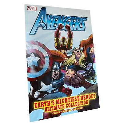 £16.99 • Buy MARVEL - AVENGERS EARTH'S MIGHTIEST HEROES ULTIMATE COLLECTION Graphic Novel