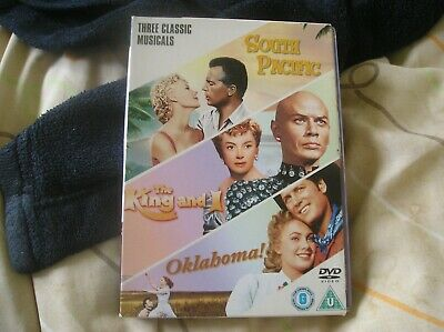 £1.35 • Buy The King And I Oklahoma South Pacific [DVD Region 2 PAL]