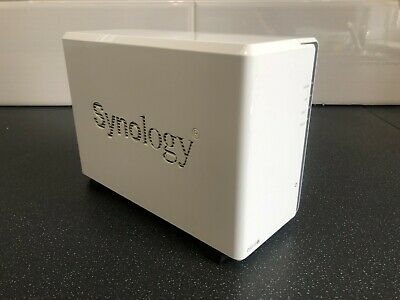 £200 • Buy Synology 2 Bay DS215j NAS Enclosure With 2 X 3TB WD Red Hard Drives *FREE P&P*