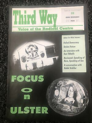 £3.30 • Buy Third Way Issue 32 (Circa 2000) Focus On Ulster (post National Front) Magazine
