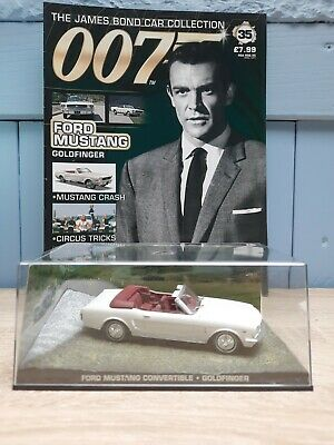 £6.99 • Buy James Bond Car Collection 1:43, Ford Mustang, GOLDFINGER