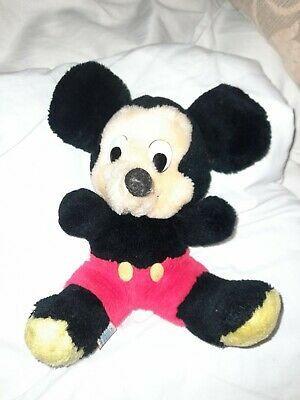£13 • Buy Vintage 1980s Mickey Mouse Bean Bag Toy From Disneyland Florida