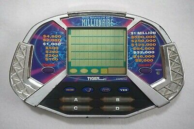 £5.82 • Buy Who Wants To Be A Millionaire Tiger Vintage Handheld Game TV Show Travel Game