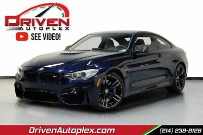 $45980 • Buy 2017 BMW M4 Base 2dr Coupe BLUE BMW M4 With 65964 Miles Available Now!
