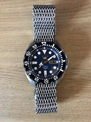£90 • Buy Seiko 5 Blue Monster 4R36 Gents Watch Automatic