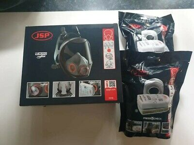 £89.99 • Buy JSP Force 10 Mask  + 2 Pairs Of Press To Check Filters