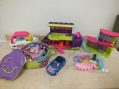 £9.99 • Buy Polly Pocket Bundle Includes Boat Aeroplane House Figures & Accessories  (Nee]