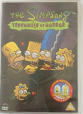 £1 • Buy The Simpsons - Treehouse Of Horror (DVD, 2002)