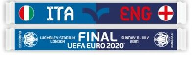 £16 • Buy Italy V England Euro 2020 FINAL 11th July *Official* Friendship Scarf BNWT