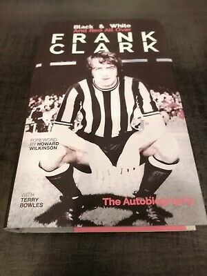 £30 • Buy Frank Clark:(signed) Black And White& Red All Over,2018,h/b V/g Condition