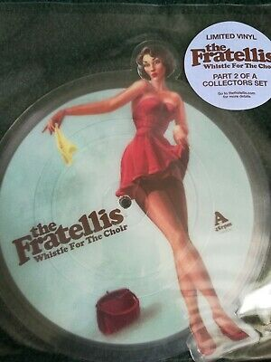 £18 • Buy The Fratellis Whistle For The Choir Shaped Picture Disc Part 2