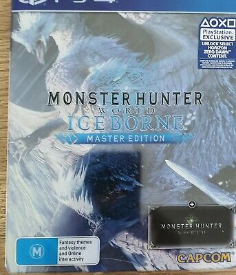 AU70 • Buy Monster Hunter Iceborne Master Edition Steelbook Sony PS4/PS5 PAL