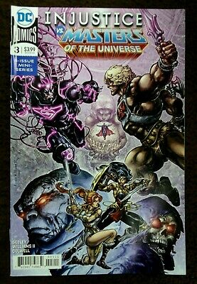 $4.95 • Buy Injustice Vs Masters Of The Universe He-man Superman #3 Dc Comic 2018