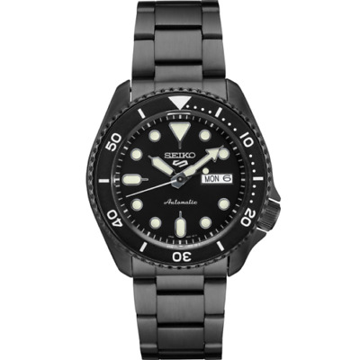 $ CDN288.36 • Buy NEW Seiko 5 Black Dial SRPD65 Automatic Stainless Steel Watch