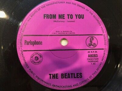 £5.29 • Buy The Beatles- Rare Aussie 45   From Me To You   1963  [Purple Label]