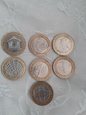 £20 • Buy Two Pound Coin Job Lot Rare £2 X 7. Have Been In Circulation.