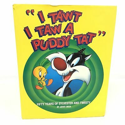 £5.30 • Buy  I Tawt I Taw A Puddy Tat  Book By Jerry Beck (1991) Looney Tunes #452
