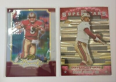 $1.50 • Buy 2000 Topps Finest. Upper Deck Ionix Majestic Steve Young Lot....