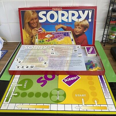 £9.99 • Buy Vintage Waddingtons 1994 Sorry Board Game Great Condition - Complete