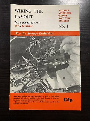 £1 • Buy Freezer, C J  RAILWAY MODELLER 'SHOWS YOU HOW' BOOKLET NO. 1 WIRING THE LAYOUT