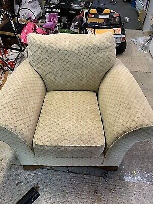 £0.99 • Buy Marks And Spencer Armchair Beige Cream Lounge Fabric / Pattern Armchair