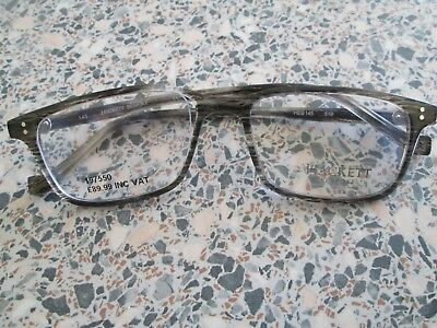 £3.99 • Buy Hackett Grey / Brown Glasses Frames. HEB 145. For Spares.