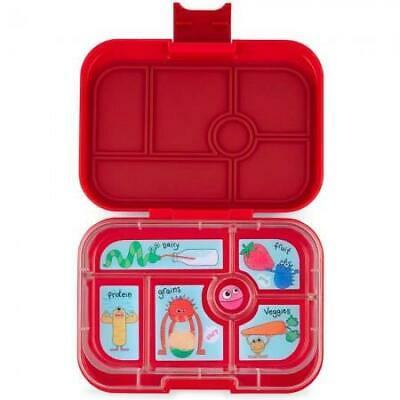 AU39.95 • Buy NEW Yumbox Original Lunch Box -  Bento Box - 6 Compartments - Wow Red