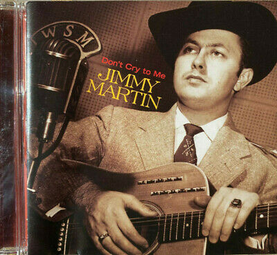 £3 • Buy Jimmy Martin, Don't Cry To Me, CD Album