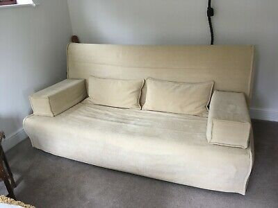 £46 • Buy Ikea Beddinge Sofa Bed And Cover In Beige, Lovely Clean Condition, Little Used.