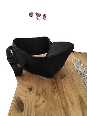 £6.50 • Buy Hippychick Hipseat Black Used For Baby Or Toddler
