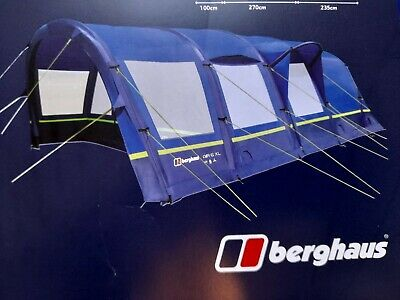£849.99 • Buy Berghaus Air 6xl Inflatable Family Tent