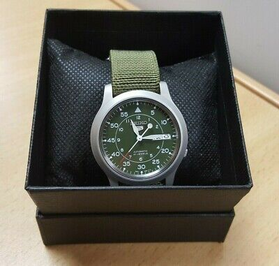 £79.99 • Buy Seiko 5 Automatic Green Dial Green Nato Style Strap Watch SNK805K2 OL 109460