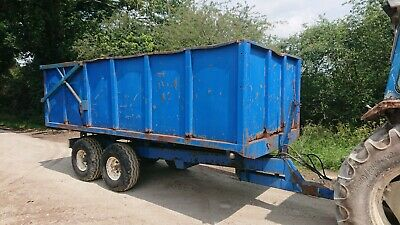 £2340 • Buy AS Marston 10 Ton Grain Silage Muck Dung Tipping Trailer £1950 +VAT