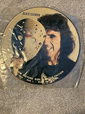£34.99 • Buy Alice Cooper Interview Picture Disc UK Import 1989 Limited Edition