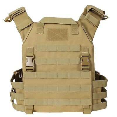 $34.95 • Buy Tactical Vest SWAT Military Style Hunting Combat Airsoft 600D Tan Khaki Beige