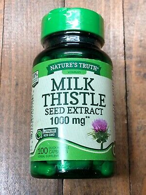 $10.34 • Buy Nature's Truth Milk Thistle Seed Extract 1000 Mg EXP 09/21