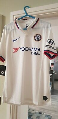£53.99 • Buy Brand New Nike Chelsea Authentic Away Shirt Jersey Top 2019/20 White