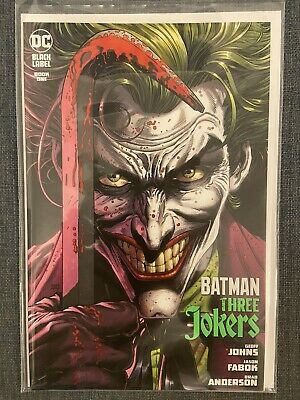 £8.50 • Buy Batman Three Jokers Book 1 With Playing Card NM Bagged And Boarded