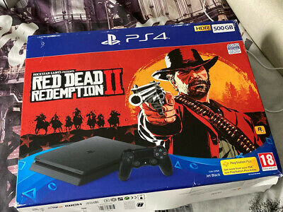 AU263.81 • Buy Ps4 Sony Playstation 4 500gb Black Slim No Games With The Console Complete W/m