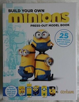 £4.99 • Buy Build Your Own Minions Press-Out Model Book Brand New