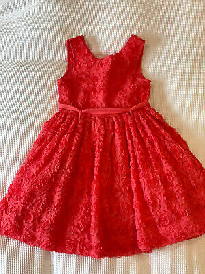 £2.99 • Buy Coral Red Girls Summer Dress