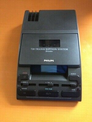 £74.40 • Buy Philips LFH 720 (MACHINE ONLY) Transcription Machine - Dictation System