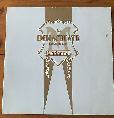£3.99 • Buy Madonna - The Immaculate Collection - Vinyl LP 1990 WX370
