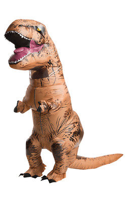 £30.99 • Buy T-REX Inflatable Dinosaur Costume Jurassic Dress Blowup Outfit Halloween