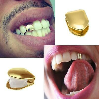 £2.99 • Buy Gold Silver Tooth Cap Grill Single Grills Rapper Bling Teeth Grillz Grills Trap