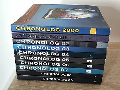 £100 • Buy Breitling Chronolog 00 01 02 03 04 05 06 07 08 & 09 Incl. Price Lists Catalogues