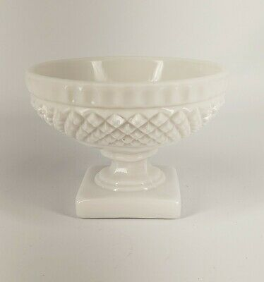 $0.99 • Buy Westmoreland English Hobnail Milk Glass Compote/pedestal Bowl/Candy Dish