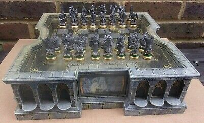 £425 • Buy NOBLE COLLECTION Lord Of The Rings Collectors Chess Set