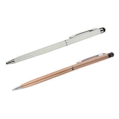 £3.12 • Buy 2x High Quality 135MM Capacitive Pen Touch Screen Stylus For I-Pad Pad PC